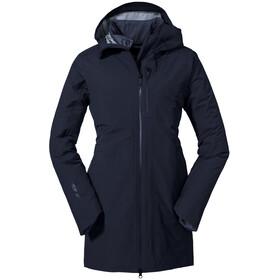 Schöffel Christchurch Parka 3 En 1 Femme, navy blazer
